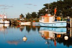 Boote am Darßer Nothafen