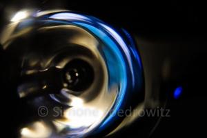 Reflektionen im Glas
