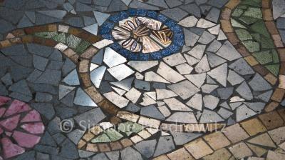 Mosaikboden