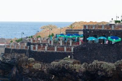 Restaurant auf der Steilklippe