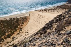 Düne am Meer Aufsicht