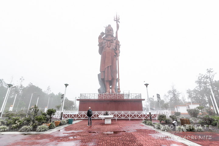 riesige Statue Shiva